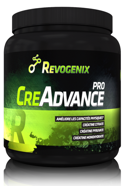 Creadvance Pro pot - Revogenix - créatine | Toutelanutrition