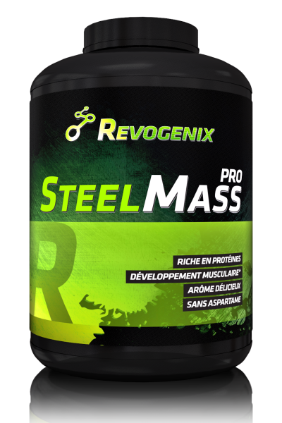 Steel mass pro - Revogenix - gainer | Toutelanutrition