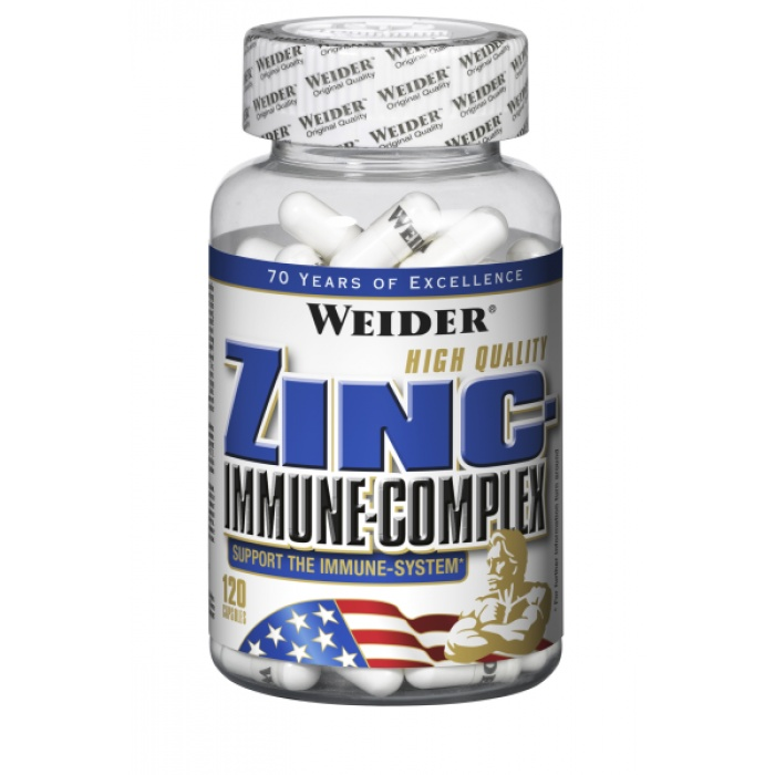 Zinc immune complex - Weider - testostérone | Toutelanutrition