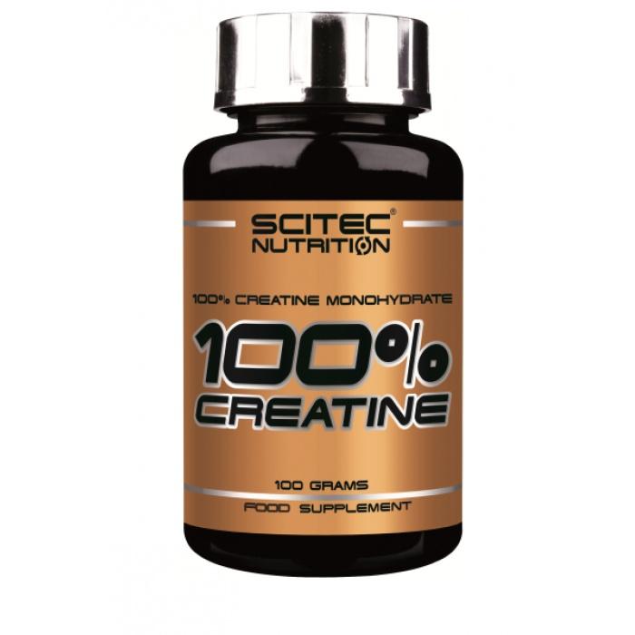 100% créatine - Scitec - créatine monohydrate | Toutelanutrition