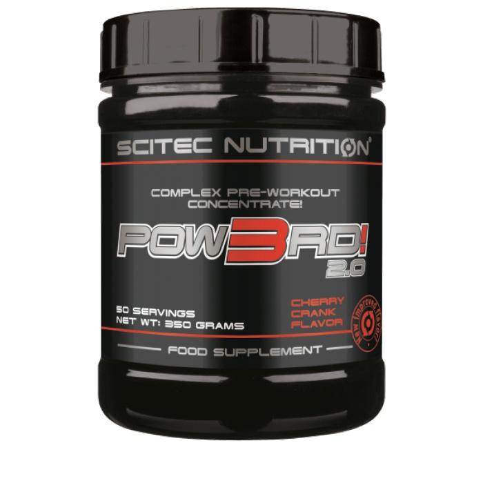 Pow3d - Scitec nutrition - booster   Toutelanutrition