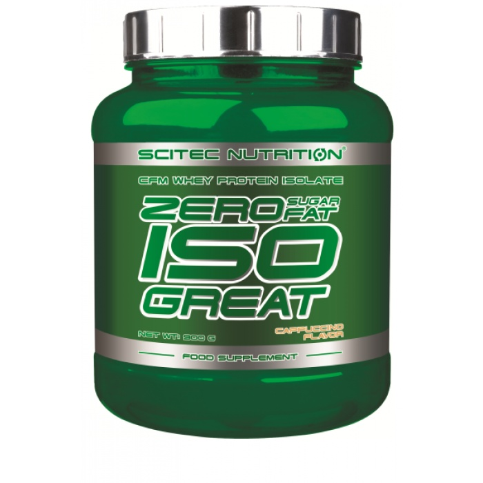 Zero Sugar/Zero Fat Isogreat - Scitec | Toutelanutrition
