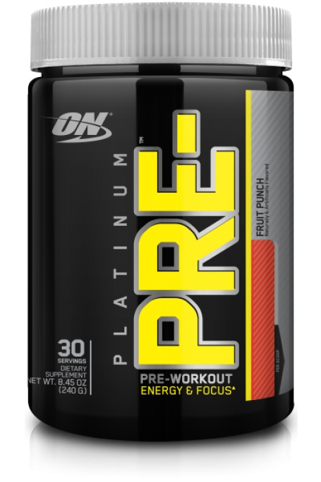 Platinum pre - Optimum nutrition - booster | Toutelanutrition