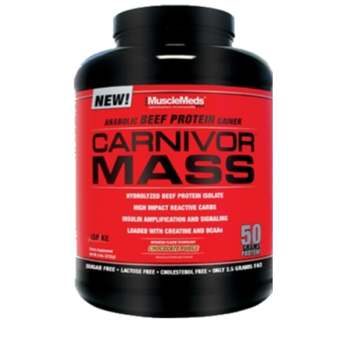 Carnivor mass - Musclemeds - gainer | Toutelanutrition