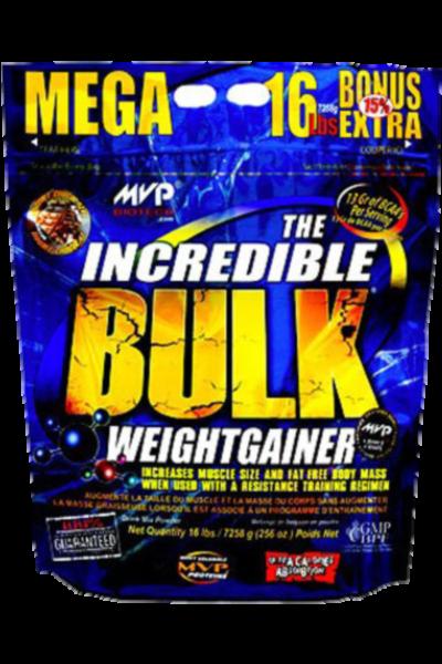 The incredible bulk - MVP Biotech - gainer | Toutelanutrition