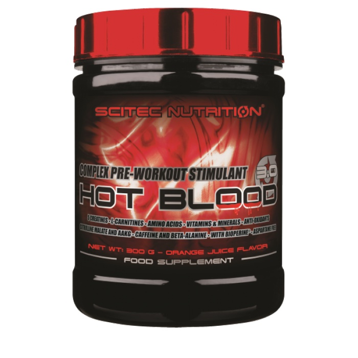 Hot blood - Scitec nutrition - booster | Toutelanutrition