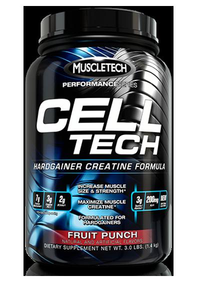 Cell tech - Muscletech - créatine | Toutelautrition