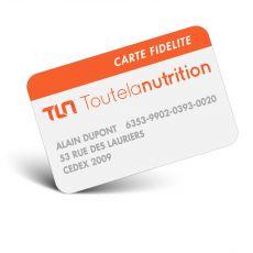 carte de fidélité Toutelanutrition