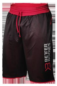 Short sport bb print noir/rouge - Better bodies