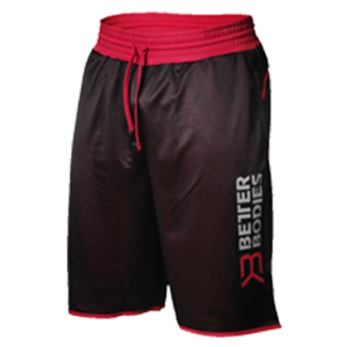 Short sport bb print noir/rouge - Better bodies