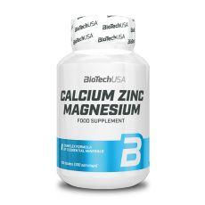 Calcium Zinc Magnesium Biotech USA | Toutelanutrition