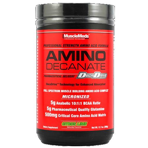 Amino Decanate - acide aminé - MuscleMeds | Toutelanutrition