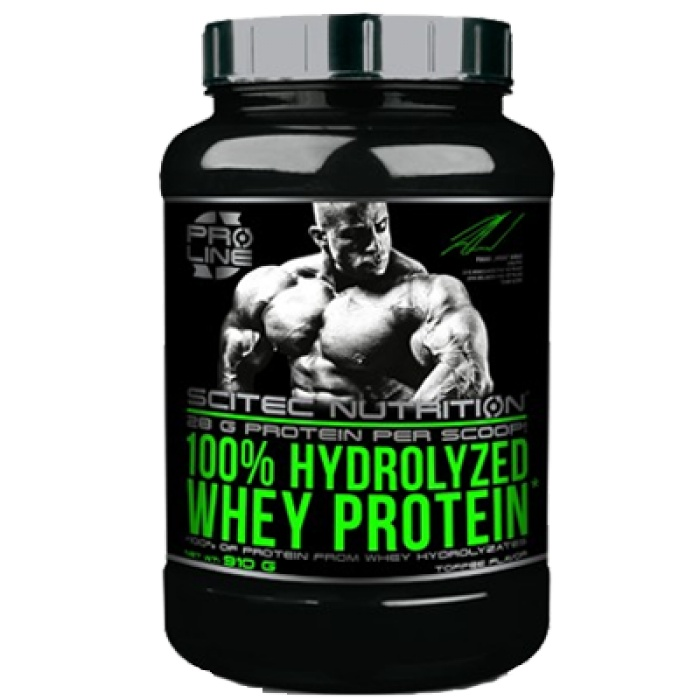 100% hydrolyzed whey protein scitec nutrition