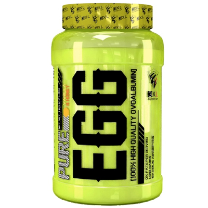 Pure Egg 3XL Nutrition