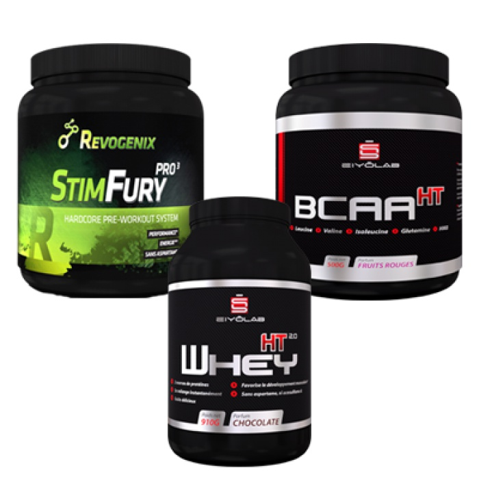 Pack Super Fit - musculation