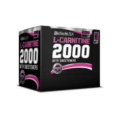 L-Carnitine Ampoule 2000 - Biotech USA| Toutelanutrition