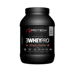 3 whey pro - protech nutrition - protéine | Toutelanutrition