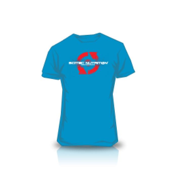 T-Shirt Scitec Bleu