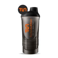 Shaker avec compartiment poudre - Toutelanutrition - musculation | Toutelanutrition