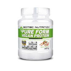Pure Form Vegan Protein - Scitec |Toutelanutrition