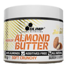 Almond butter sof crunchy - Olimp | Toutelanutrition