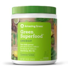 Green Superfood Energy - Amazing Grass - Boisson énergisante | Toutelanutrition