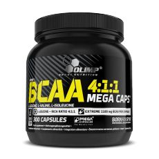 BCAA 4.1.1 Mega Caps - Olimp - BCAA