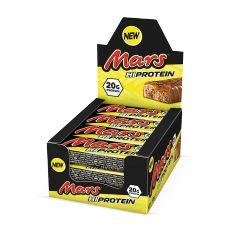 Mars Hi-Protein pack de 12 barres