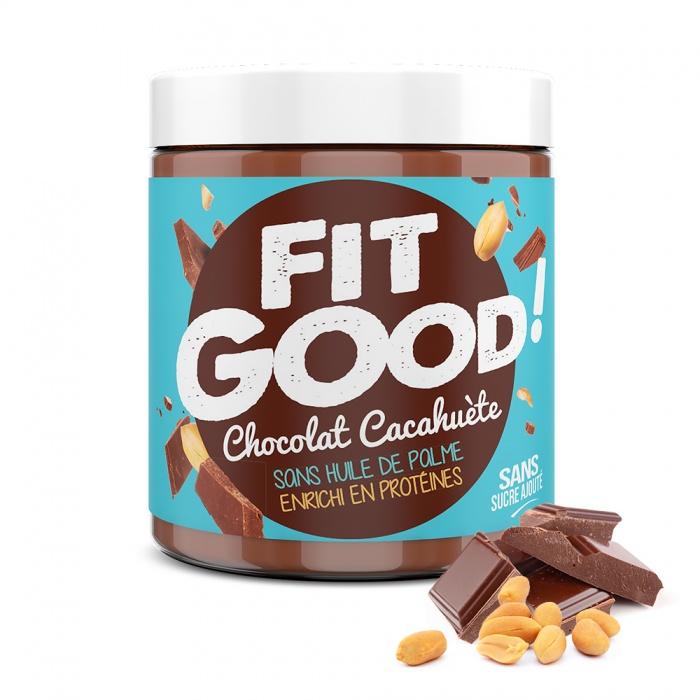 Pâte à tartiner Fit Good ! Chocolat cacahuète