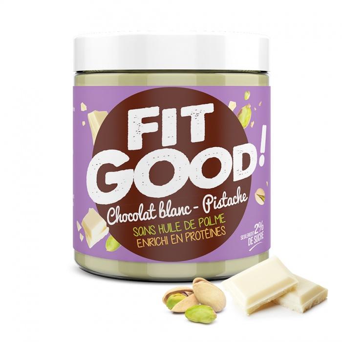 Pâte à tartiner Fit Good ! Chocolat blanc pistache
