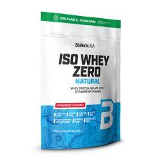 Iso Whey Zero Natural - Protéine - Isolate - Biotech USA | Toutelanutrition