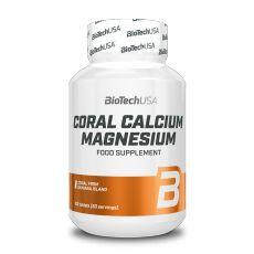 Coral Calcium Magnesium - Vitamines & Minéraux - Biotech USA | Toutelanutrition
