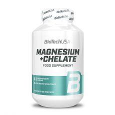 Magnésium + Chelate - Vitamines & Minéraux - Biotech USA   Toutelanutrition