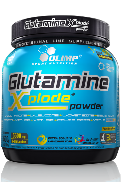 Glutamine xplode powder - musculation | Toutelanutrition