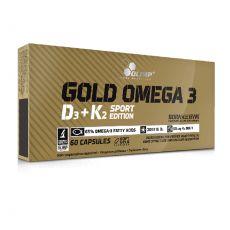 Gold Oméga 3 D3 + K2 - Olimp I Toutelanutrition