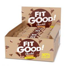Barre protéinée pack de 12 barres Fruits rouge - Fit Good | Toutelanutrition