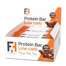 Protein Bar Low carb pack de 12 barres - Fit & Healthy | Toutelanutrition