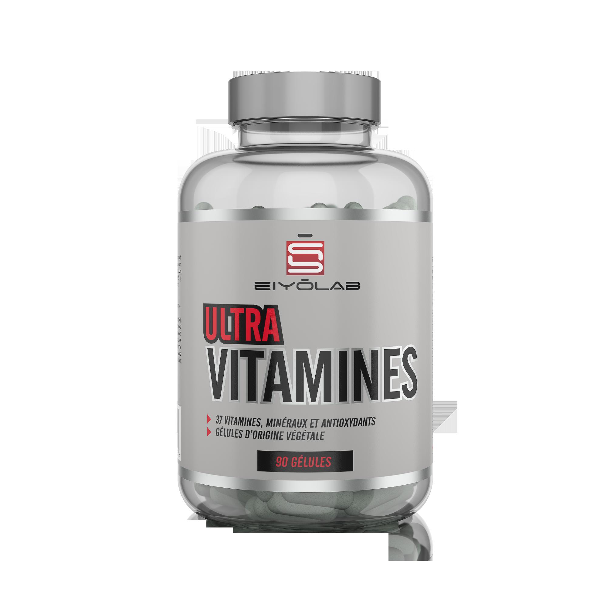Ultravitamines - Eiyolab - vitamines minéraux | Toutelanutrition