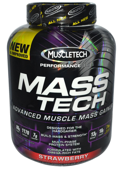 Mass tech - Muscletech - gainer | Toutelanutrition