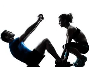 Exercice d'abdos