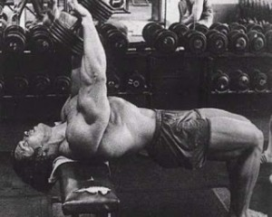 Arnold Dumbbell Pullovers
