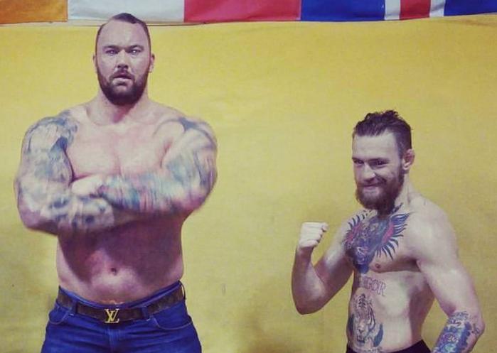 Conor McGregor (Champion UFC) vs La Montagne (Game of Thrones)
