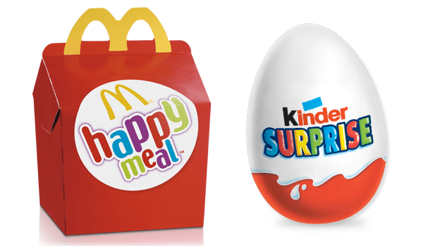 Malbouffe = Le Chili interdit les Kinder Surprise et les Happy Meal !