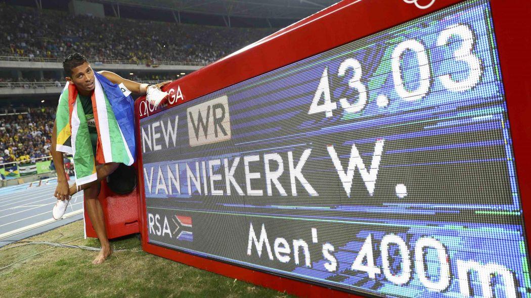 Van Niekerk, le nouveau record olympique
