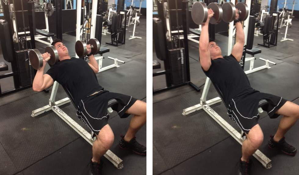 6_Incline Dumbbell Bench Press