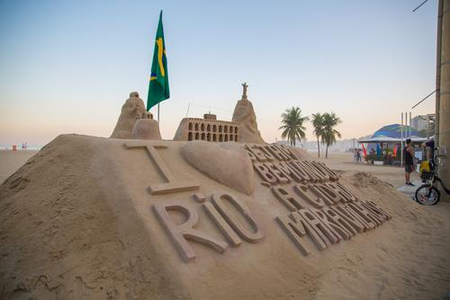 Fitness dans le monde : Les salles de musculation sur les plages du Brésil !