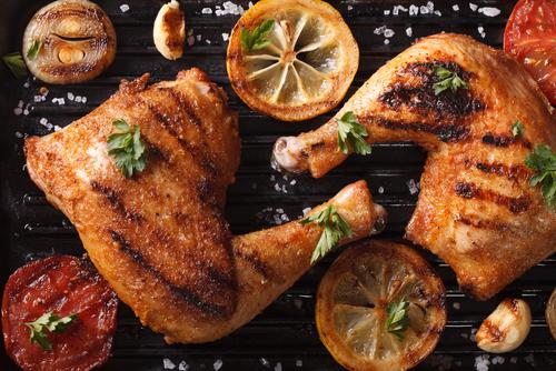 Notre recette de poulet au citron et épices