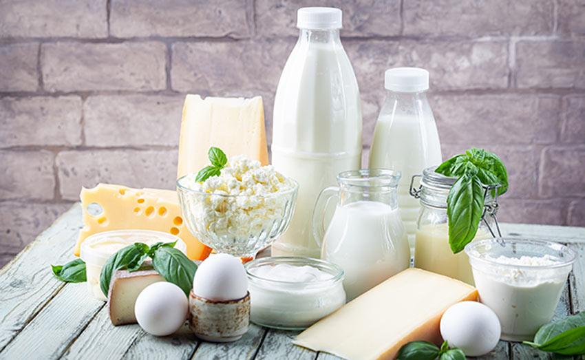 Les produits laitiers, source de calcium