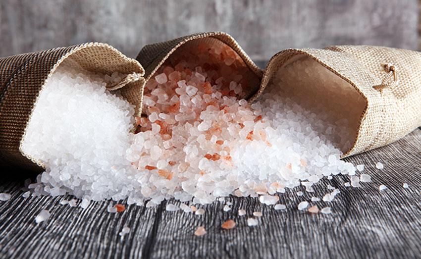 Différents type de sels