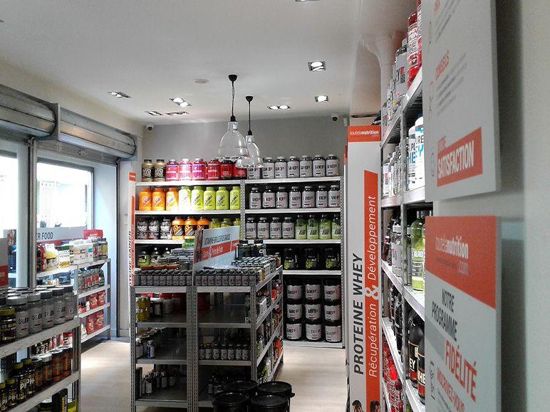 Magasin nutrition sportive et protéine Paris 13ème | Toutelanutrition
